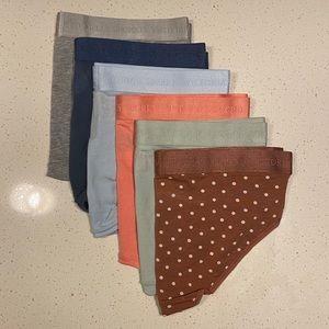 """Victoria's Secret """"6"""" Pair Panty Bundle"""